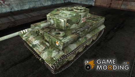 Шкурка для Tiger для World of Tanks