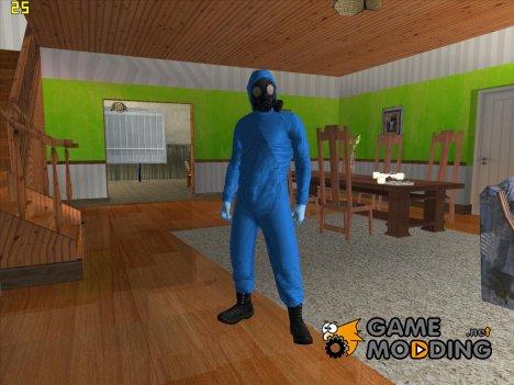 Skin DLC Heist for GTA San Andreas