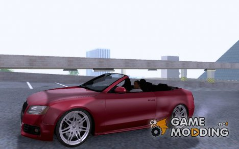 Audi S5 Cabriolet 2010 for GTA San Andreas