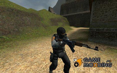 GsG9 Black-adidas-nike v1.0 для Counter-Strike Source