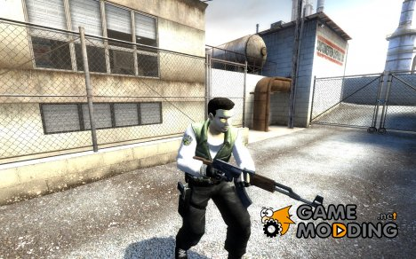 Chris Redfield (default Leet Model) для Counter-Strike Source