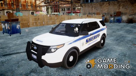Ford Explorer Police Interceptor slicktop for GTA 4