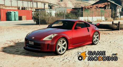 Nissan 350z for GTA 5