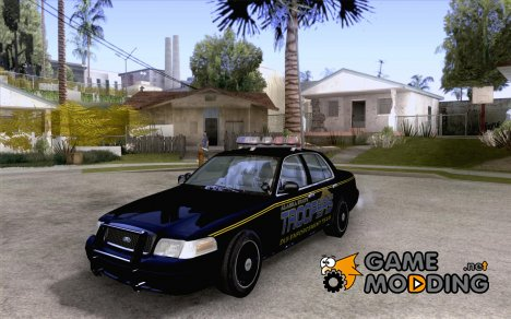 Ford Crown Victoria Alaska Police for GTA San Andreas