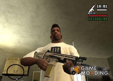 MK 16 Scar for GTA San Andreas