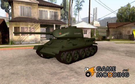 T 34-85 образец 1945 for GTA San Andreas