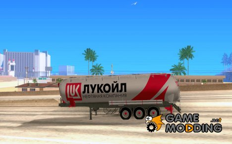 Прицеп Лукойл для Mercedes-Benz Actros for GTA San Andreas