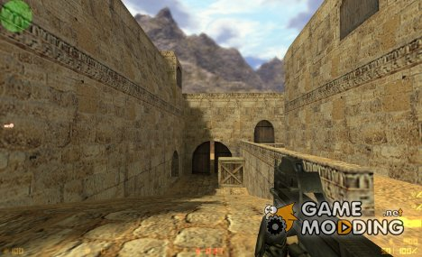 Default P90 retexture for Counter-Strike 1.6