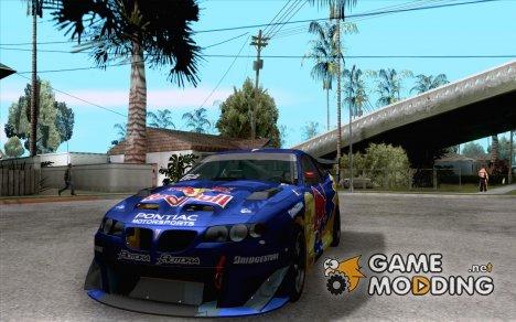 Pontiac GTO Red Bull for GTA San Andreas