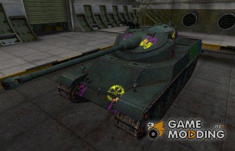 Качественные зоны пробития для AMX 50 100 для World of Tanks