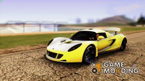 Hennessey Venom GT U.S.A American 2012 for GTA San Andreas