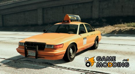 San Andreas Stanier Taxi V1 for GTA 5