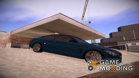 2014 BMW 4 series Coupe F32 для GTA San Andreas