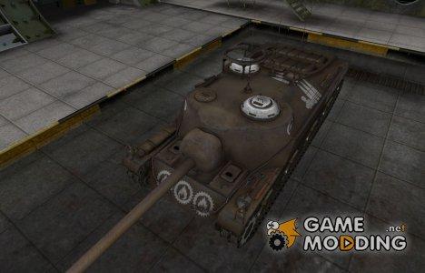 Зоны пробития контурные для T28 for World of Tanks