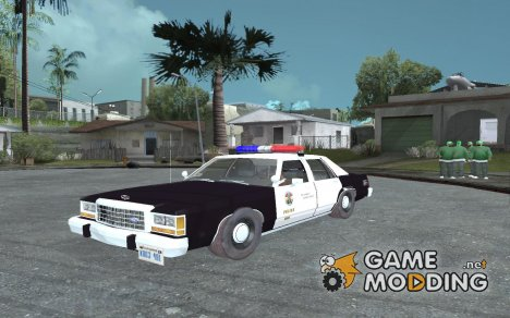 Ford Crown Victoria LTD 1992 SFPD для GTA San Andreas