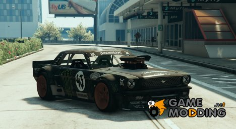 Ford Mustang 1965 Hoonicorn for GTA 5