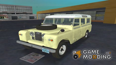 Land Rover Series IIa LWB Wagon 1962-1971 для GTA Vice City
