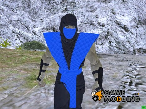 Sub Zero Mortal Kombat for GTA San Andreas