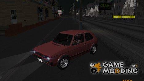 Volkswagen Golf 1 TAS for GTA San Andreas