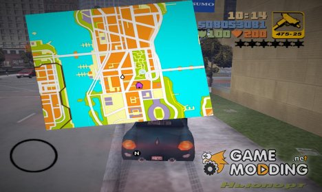 Новый радар для GTA 3