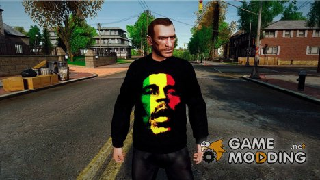 Bob Marley Sweater for GTA 4