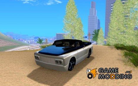 Slamvan tuned для GTA San Andreas