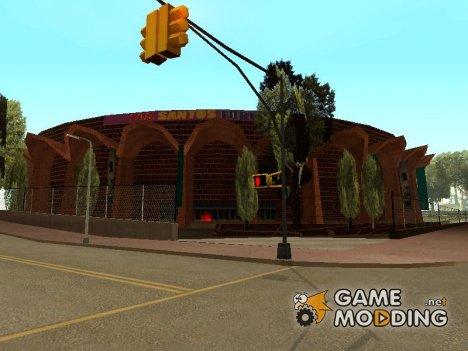Новые текстуры стадиона Los Santos Forum for GTA San Andreas