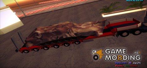 Прицеп C Танком for GTA San Andreas