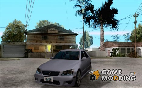 Lexus IS300 tuning для GTA San Andreas