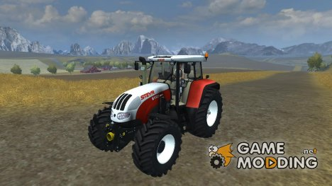 Steyr CVT 6195 v 2.1 for Farming Simulator 2013