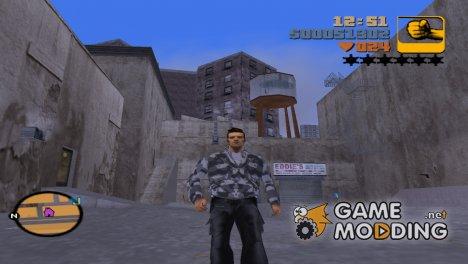 Одежда для Клода for GTA 3