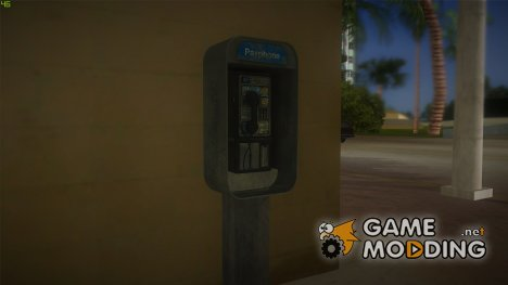 High Quality Payphones для GTA Vice City