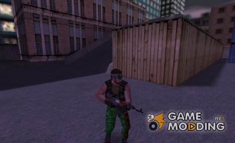 Guerilla - Green Camo for Counter-Strike 1.6