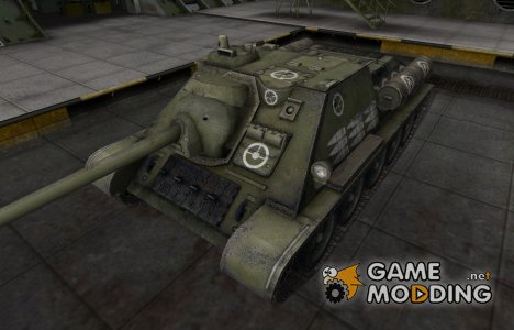 Зоны пробития контурные для СУ-85 для World of Tanks