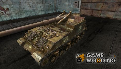 "Шкурка для M40/M43 ""MONSTER"" for World of Tanks"