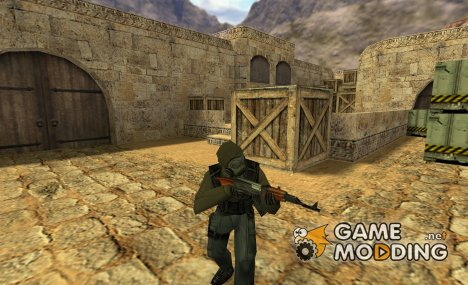 SAS in S.T.A.L.K.E.R. style for Counter-Strike 1.6