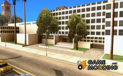 All Saints Hospital для GTA San Andreas