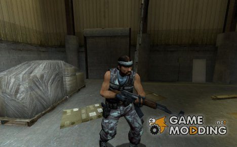 Blue Guerilla for Counter-Strike Source