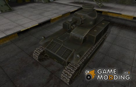 Шкурка для американского танка T2 Medium Tank for World of Tanks