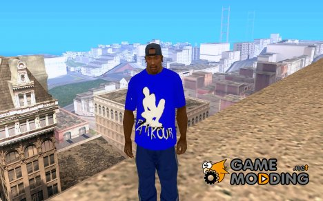 Parkour t-shirt for GTA San Andreas