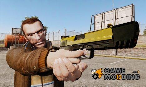 Самозарядный пистолет H&K USP v4 for GTA 4