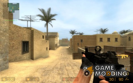 black m4a1 scope and sounds for Counter-Strike Source