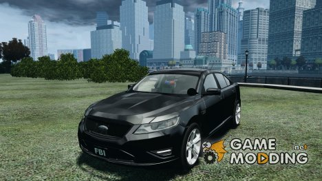Ford Taurus FBI 2012 для GTA 4