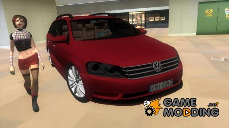 2012 Volkswagen Passat B7 for GTA Vice City