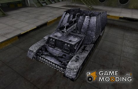 Темный скин для Hummel для World of Tanks