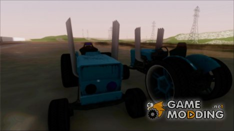 Tractor Kor4 for GTA San Andreas