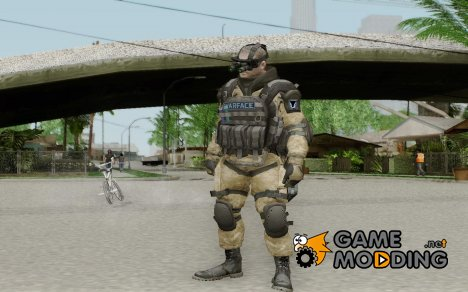 Инжинер из Warface for GTA San Andreas