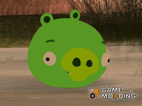 Pig from All Angry Birds Games for GTA San Andreas