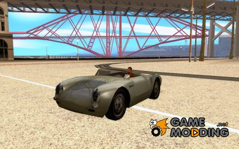 Porsche 550 spyder for GTA San Andreas