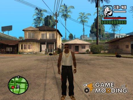 """Кожаные штаны """"Анархиста"""" для GTA San Andreas"""